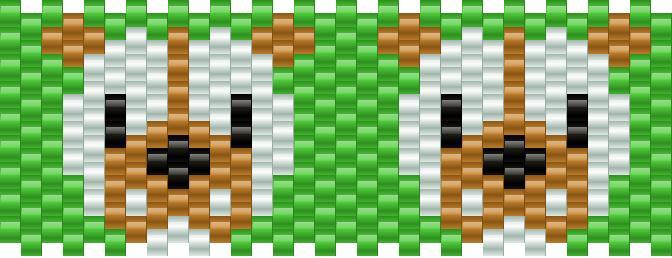 Bulldog Kandi Pattern