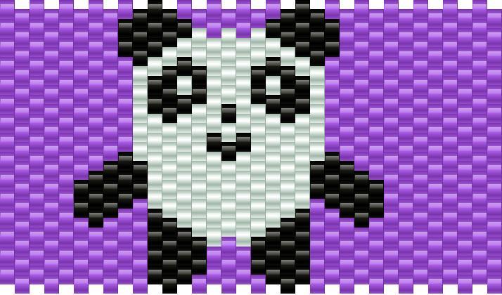 full body panda