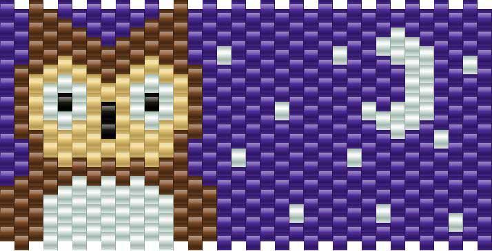 owl pony bead patterns animals kandi patterns for kandi
