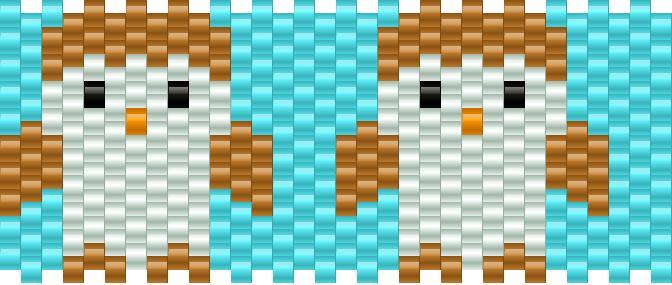Owls Kandi Pattern