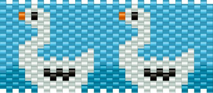 Swan Kandi Pattern