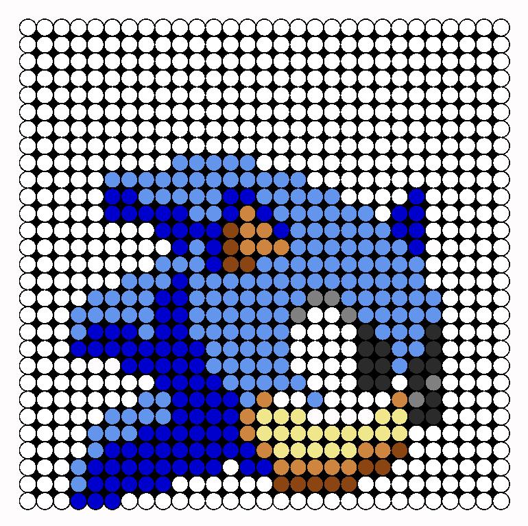 sonic perler bead pattern bead sprites characters fuse