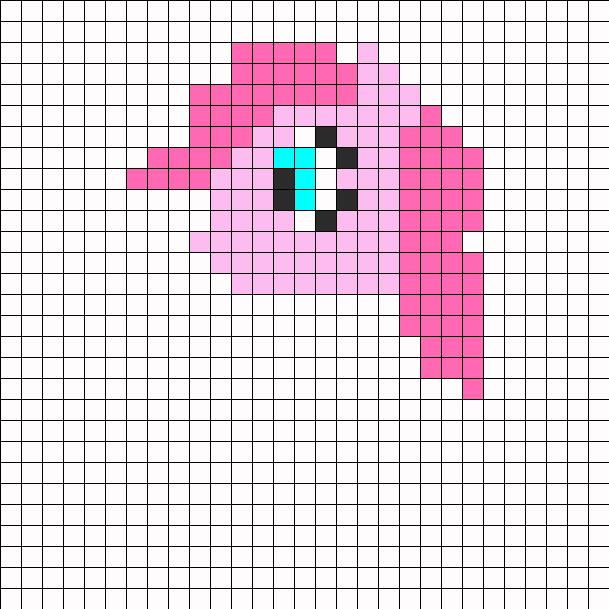 Pinkie Pie Perler