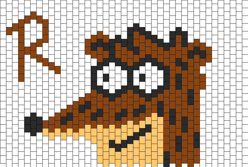 Rigby Poster Bead Pattern