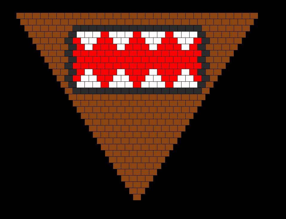 Domo Kandana Bead Pattern