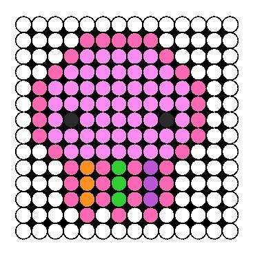 Squidgy Perler Perler Bead Pattern / Bead Sprite