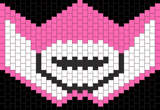 Pink MMPR Mask