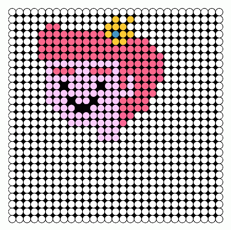 Prince Gumball Perler - Adventure Time