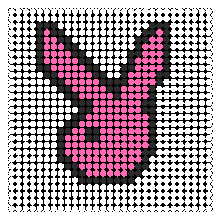 Pink & Black Playboy Bunny