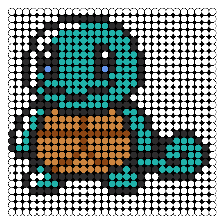 Squirtle Perler