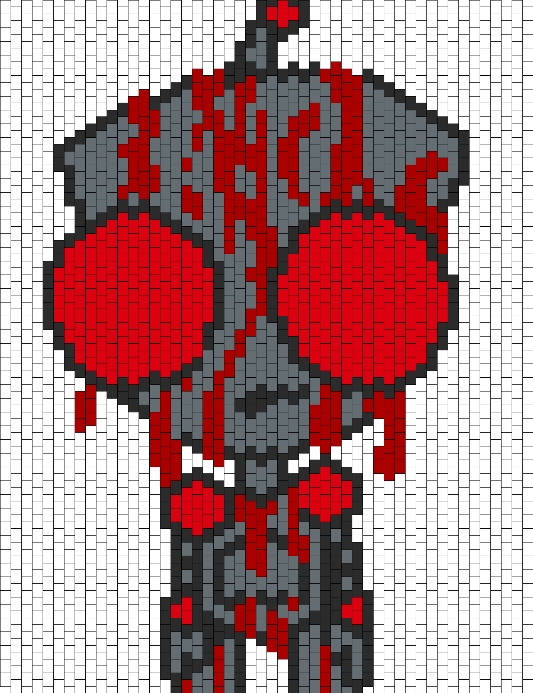 Bloody Gir Bead Pattern