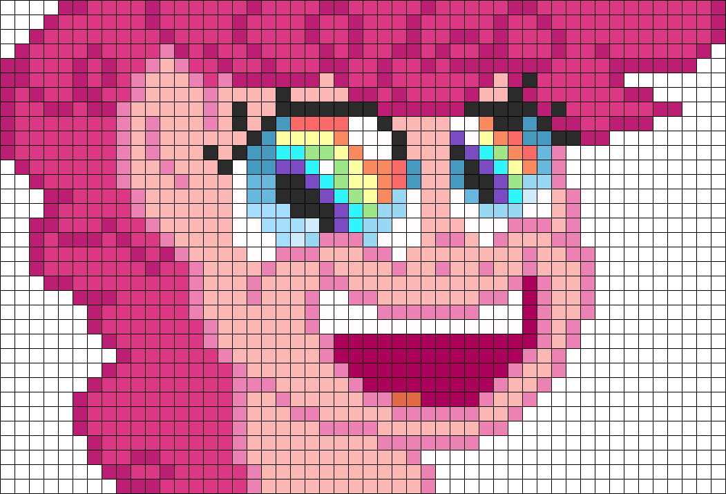 Rainbow Eyes Pinkie Pie