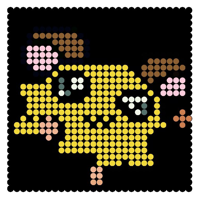 Penelope Perler Bead Pattern / Bead Sprite
