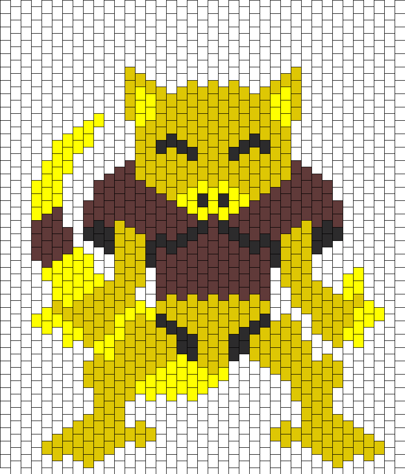 Abra Pokemon Peyote Bead Pattern