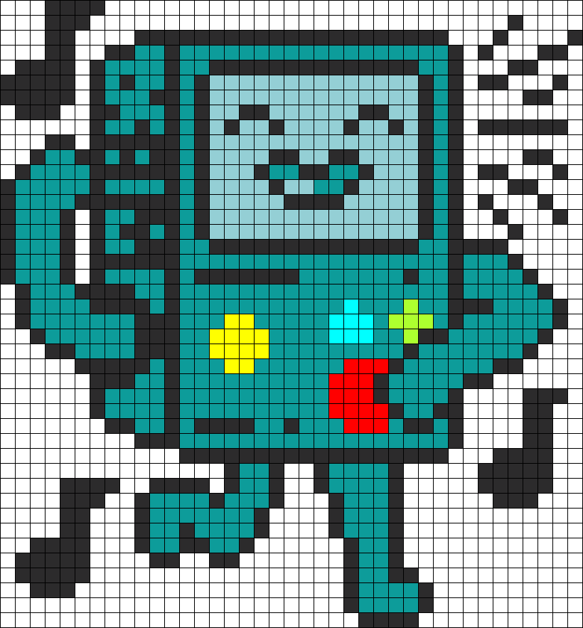 Dancy Bmo Adventure Time Perler