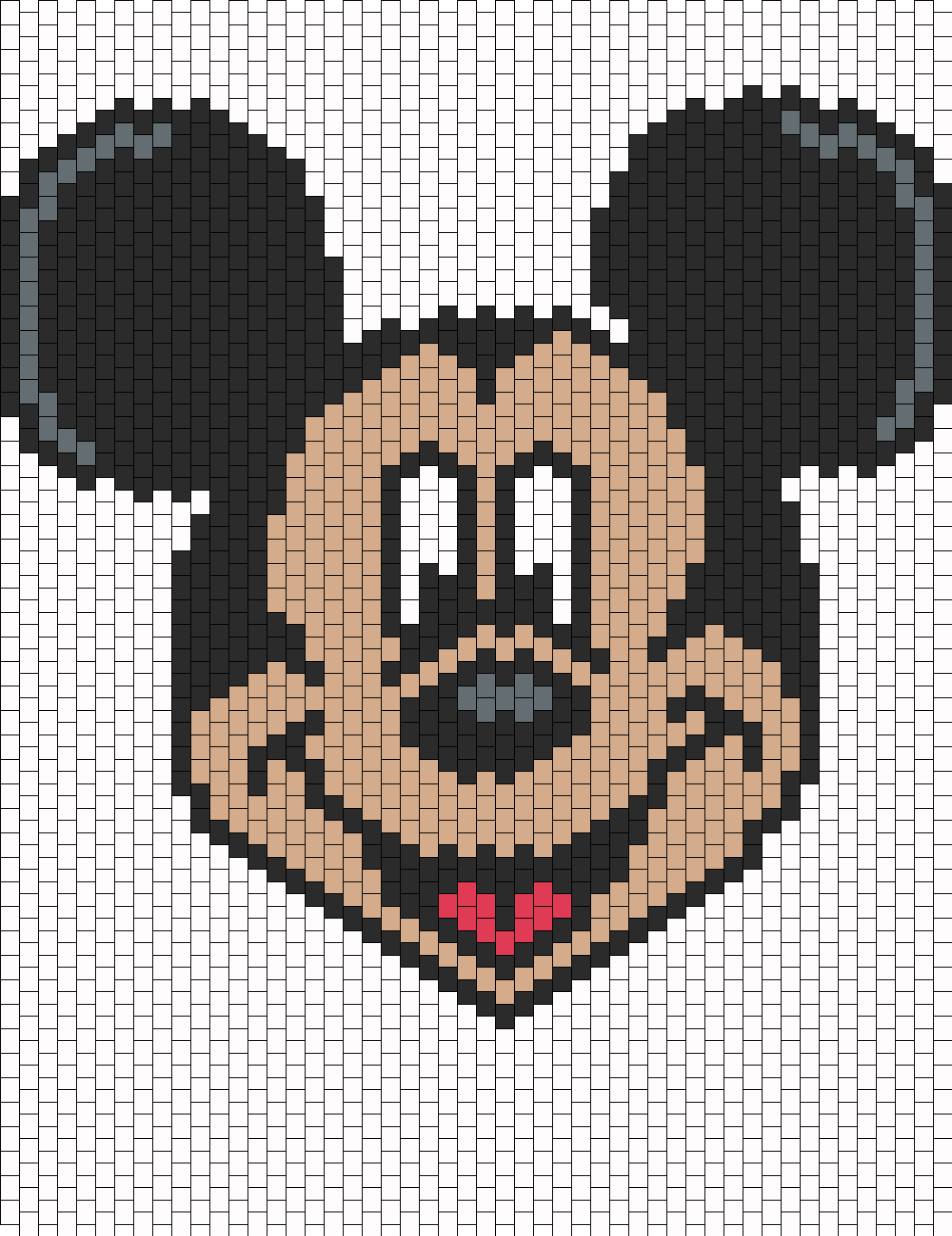 mickey mouse bead pattern peyote bead patterns characters bead patterns. Black Bedroom Furniture Sets. Home Design Ideas