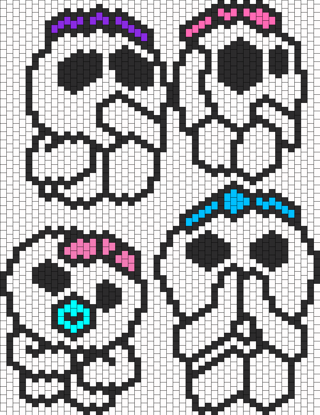 Baby Tree Spirits Bead Pattern