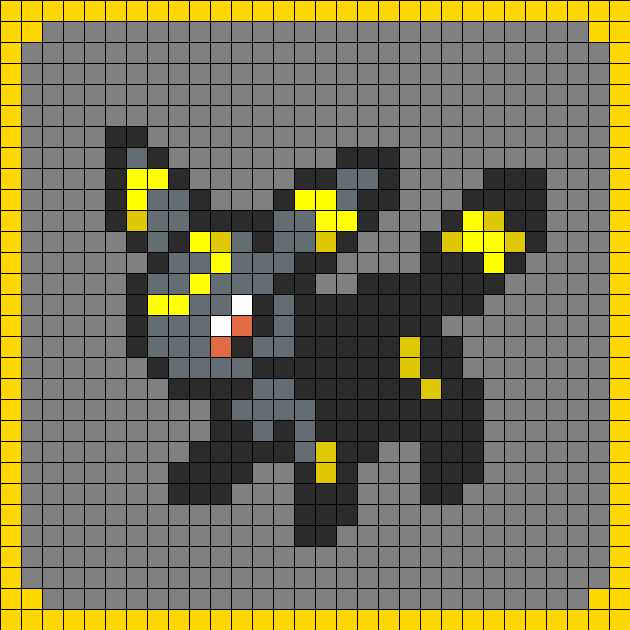 Umbreon Pokemon Coaster Set 8