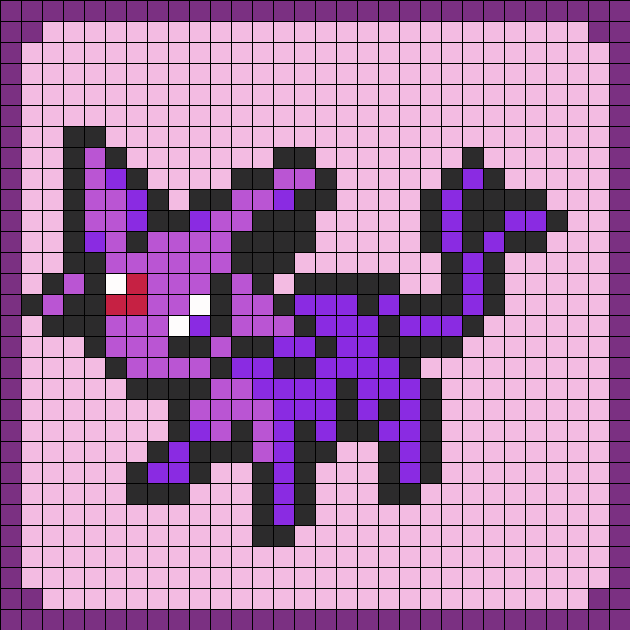 Espeon Pokemon coaster Set 7
