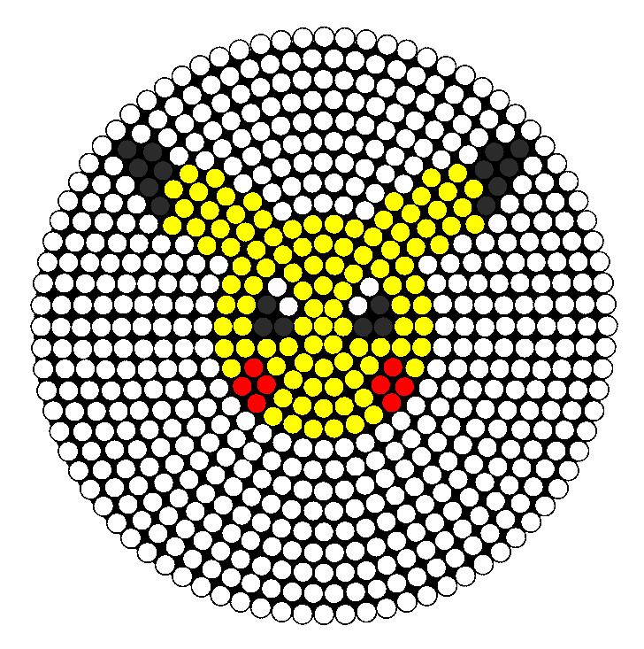 Pikachu Perler Bead Pattern | Bead Sprites | Characters ...