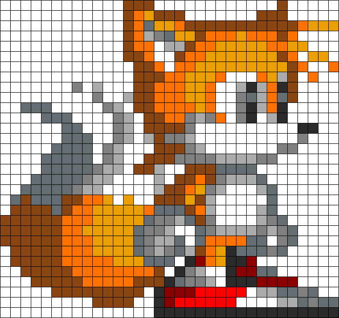 Pixel art tails galleryhip com the hippest galleries