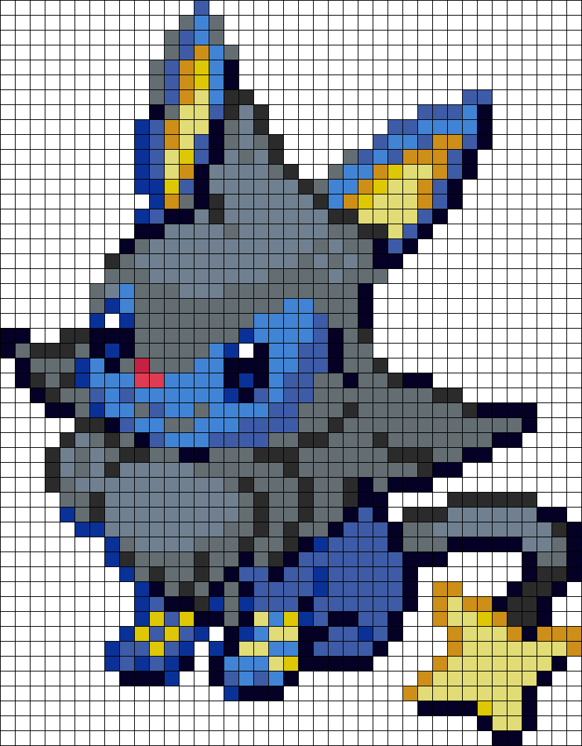Eevee And Luxio Fusion