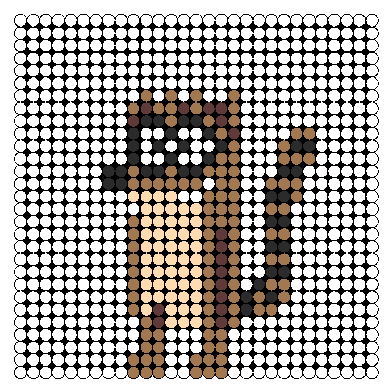 Rigby Perler Bead Pattern / Bead Sprite