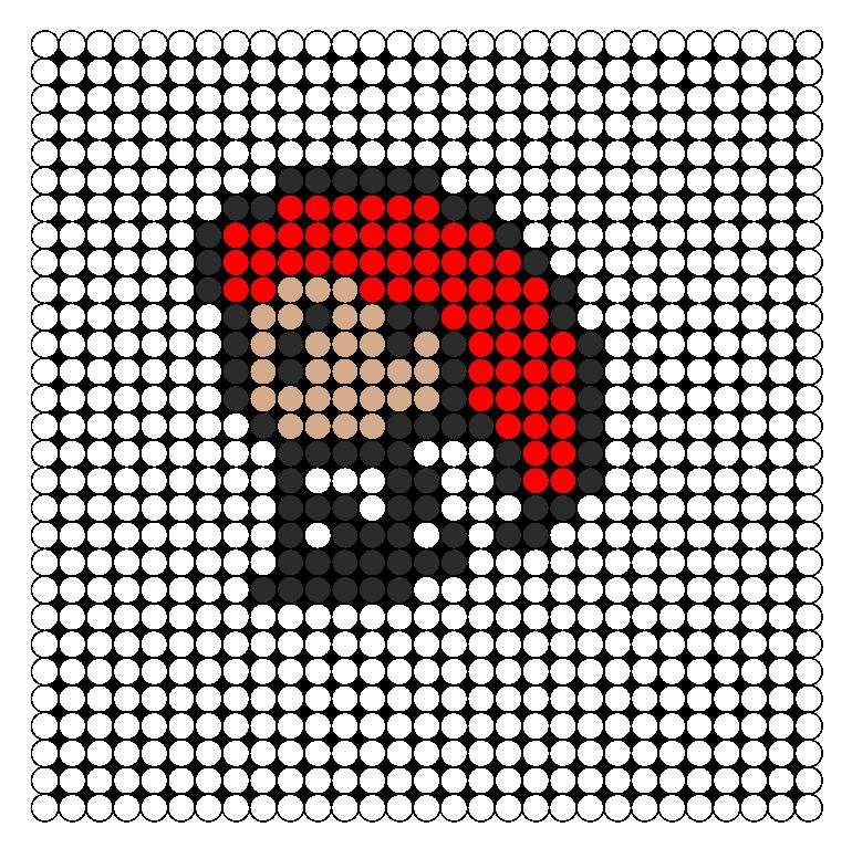 Jessie Team Rocket Perler Perler Bead Pattern / Bead Sprite