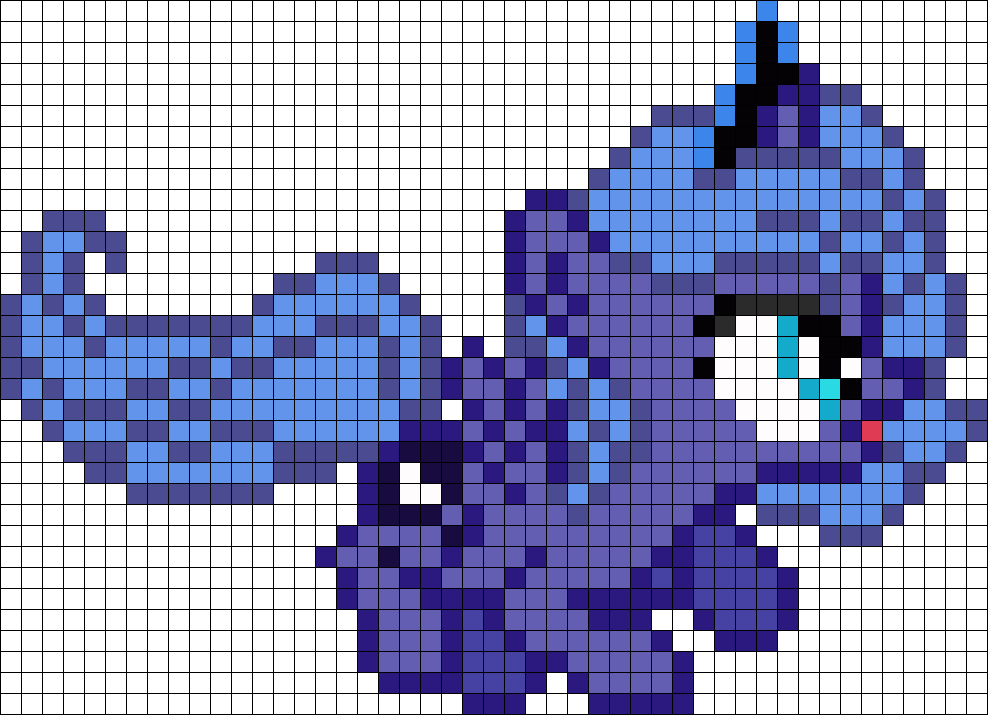 Silly Princess Luna Filly