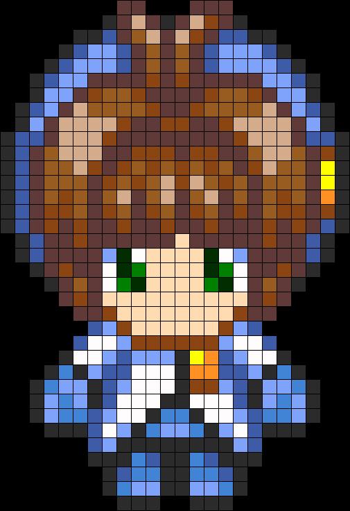 Sakura Kinomoto In A Blue Outfit