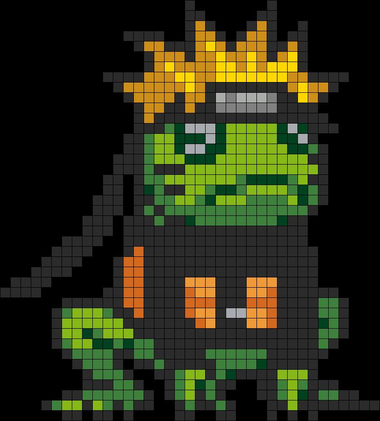 Uzumaki Naruto Frog Mode Sprite