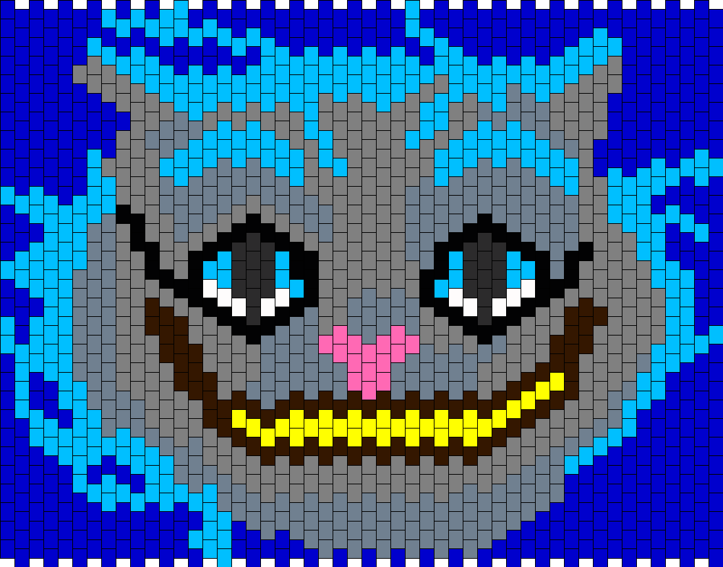 Alice In Wonderland Cheshire Cat Bead Pattern