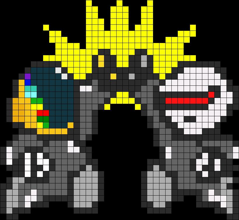 Daft Punk In Perler