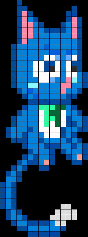 Happy Fairy Tail Perler