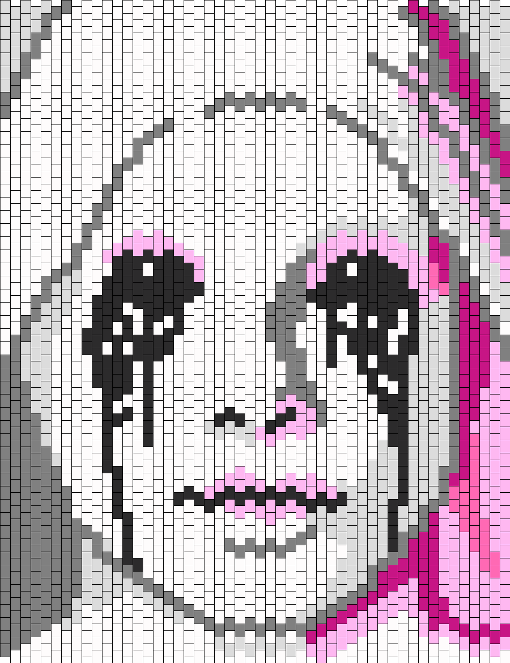 American Horror Story Asylum Crying Nun Bead Pattern