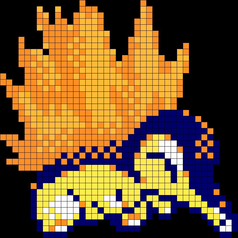 Cyndaquil Pokemon Sprite