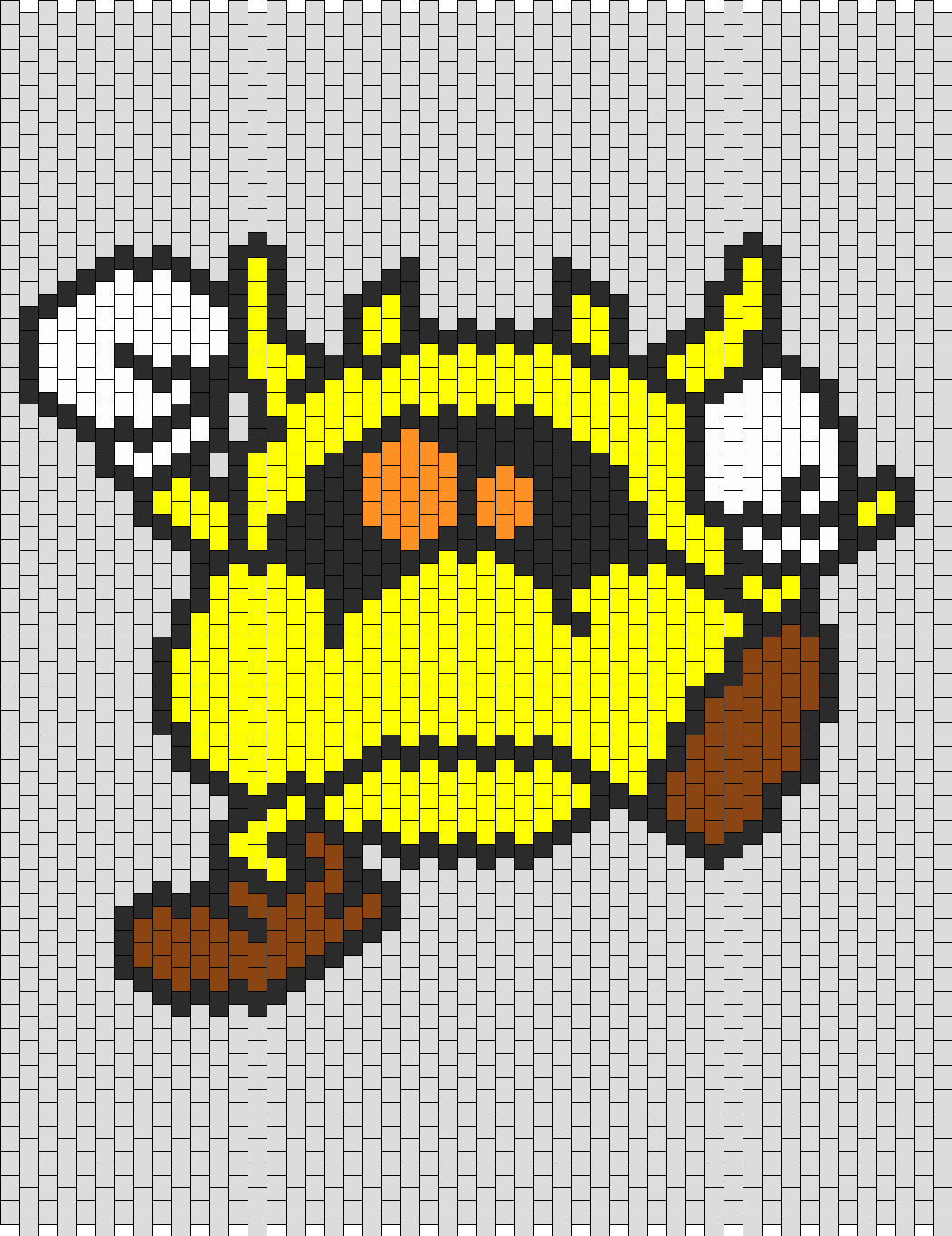 Dr Mario Virus Weird  Bead Pattern