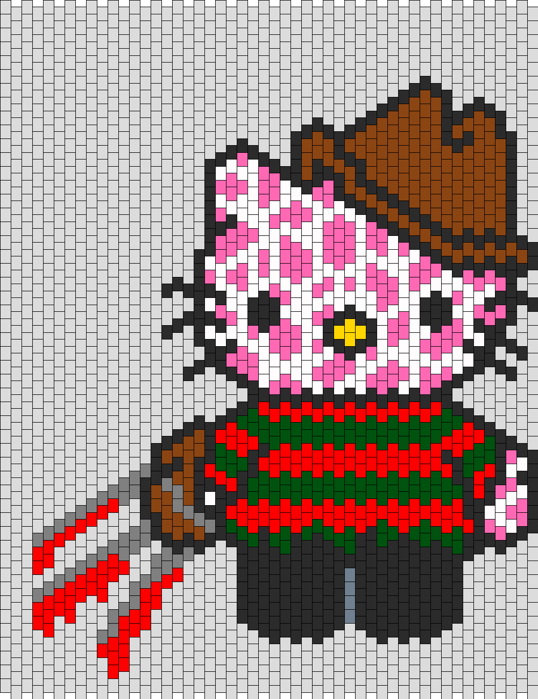 Freddy Krueger Hello Kitty