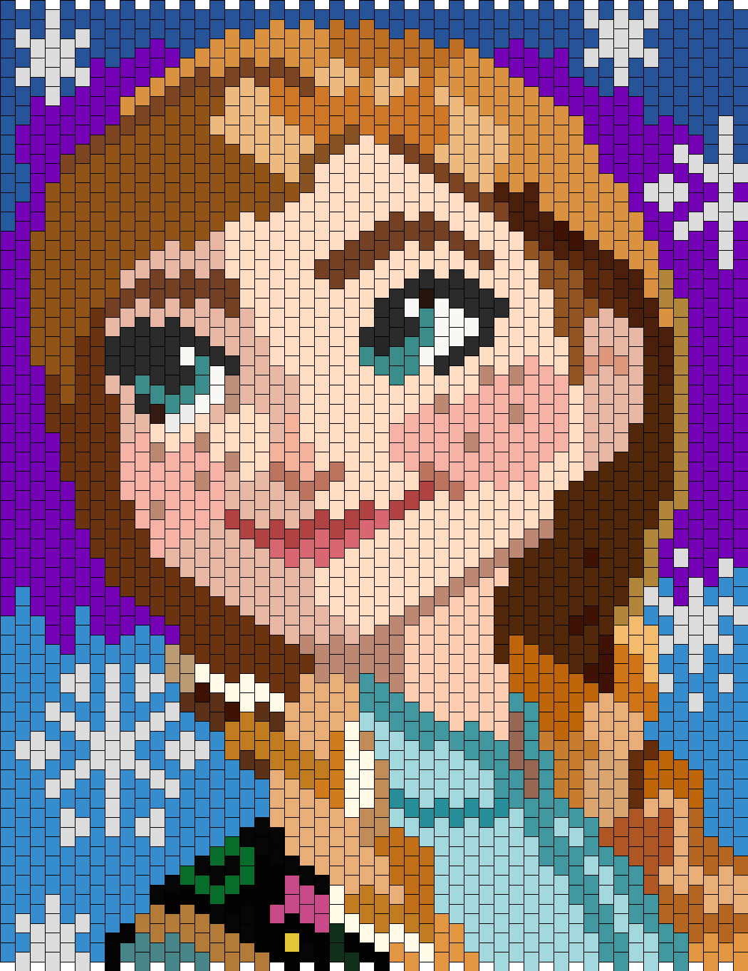 Anna From Disney Frozen