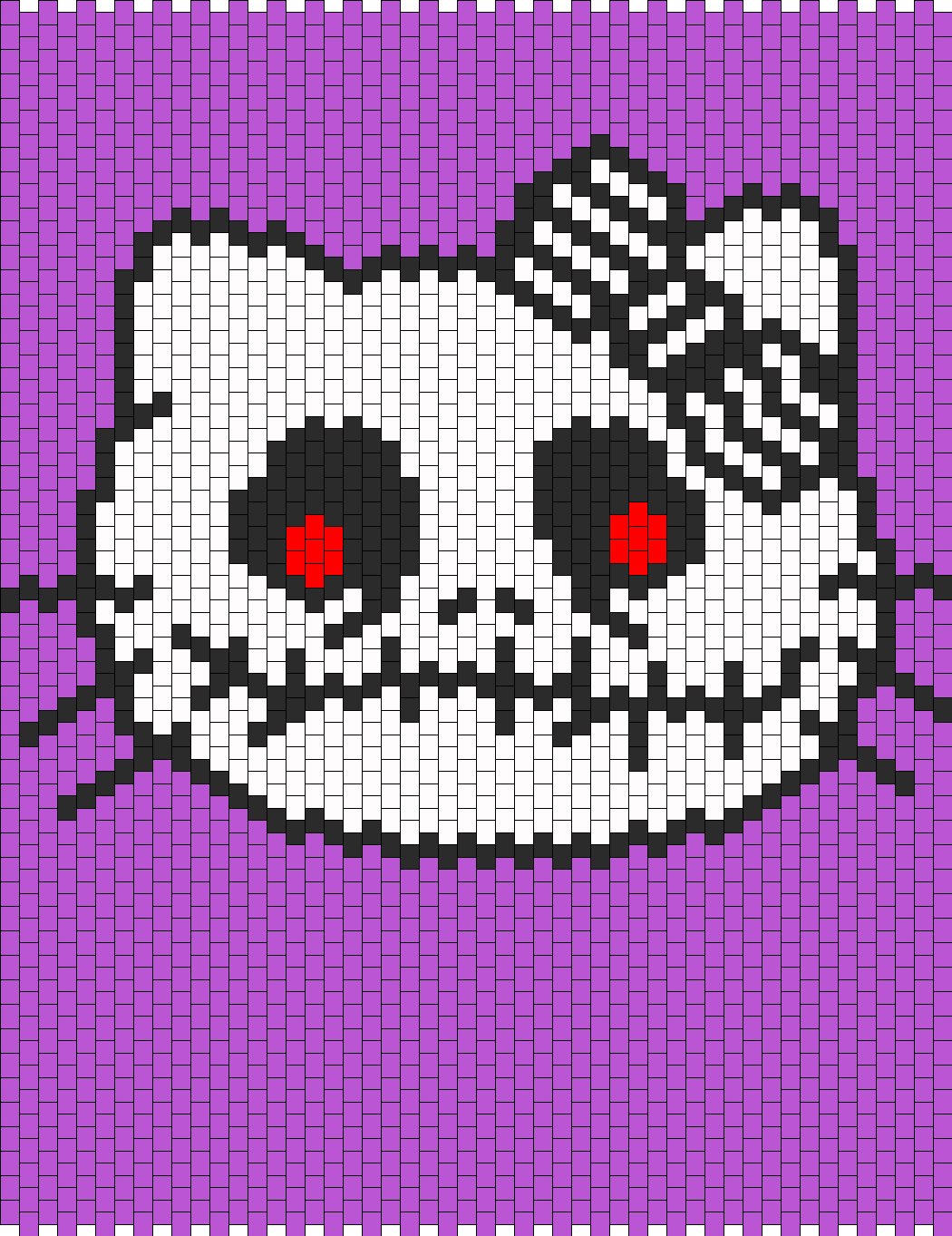 Jack Skellington Hello Kitty Face