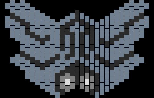 Alien Predator Stalker Mask Bead Pattern
