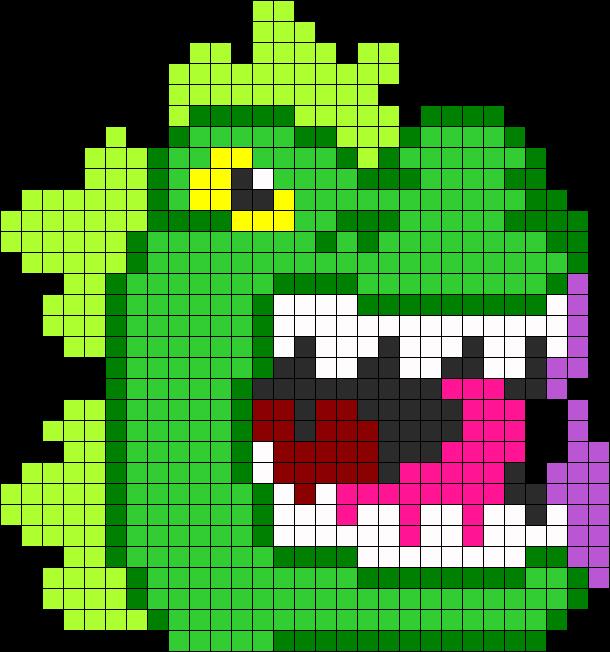 Godzilla Perler