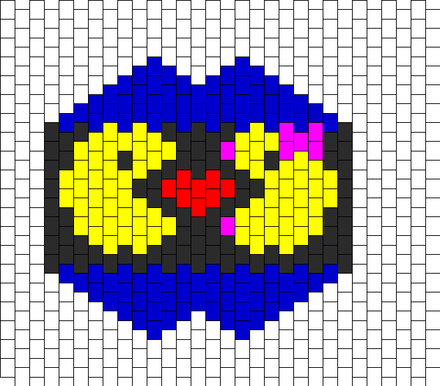Pacman Love Mask