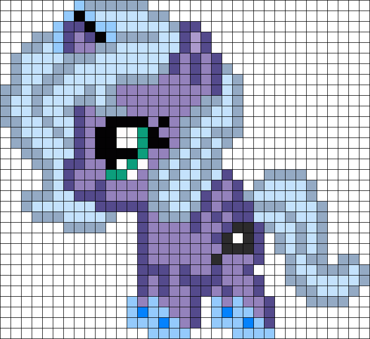 Filly Luna My Little Pony