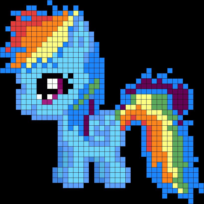 Filly Rainbow Dash My Little Pony