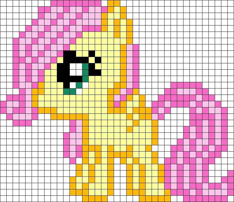 Filly Fluttershy My Little Pony