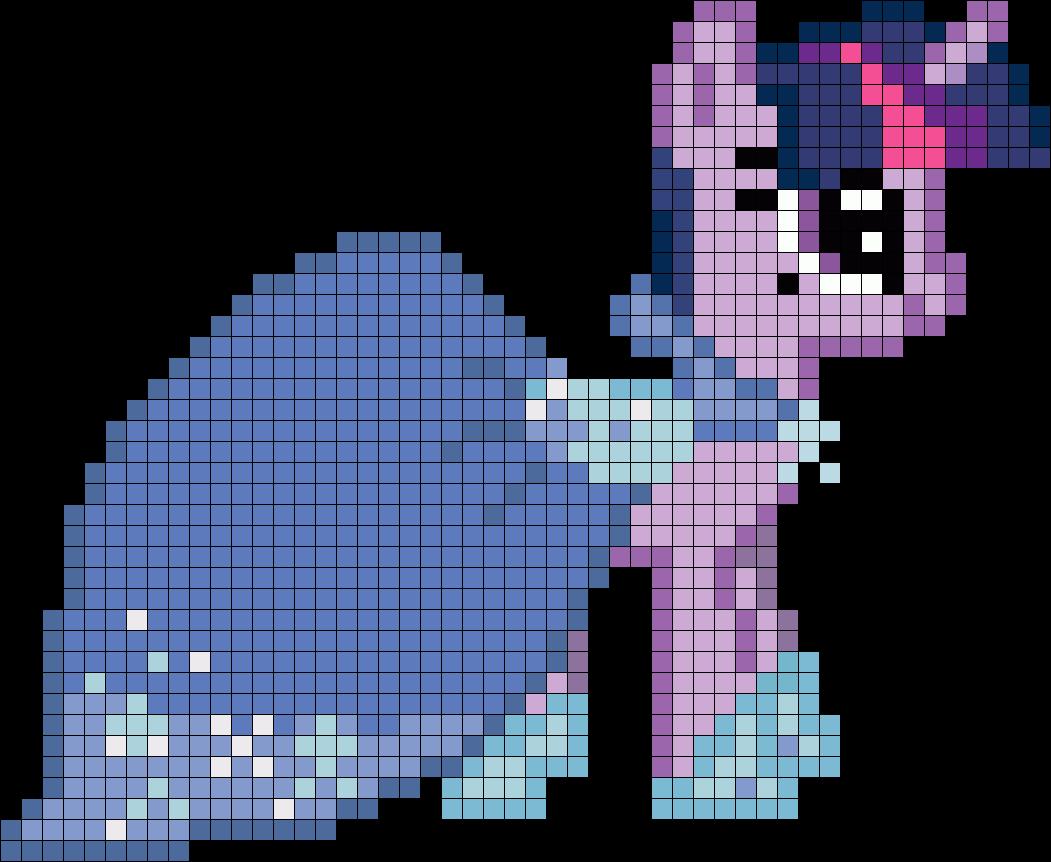 Twilight Gala My Little Pony Perler Bead Pattern / Bead Sprite
