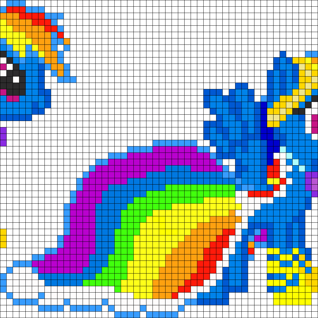 MLP Gala Rainbow Dash