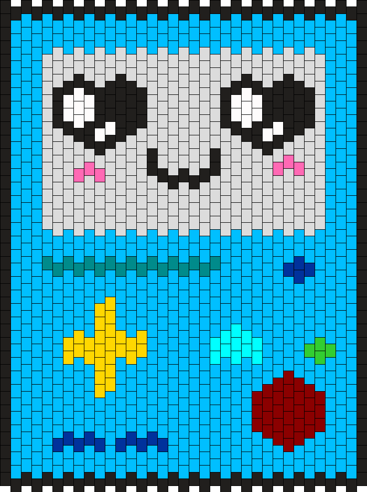 BMO Face 2 Bead Pattern