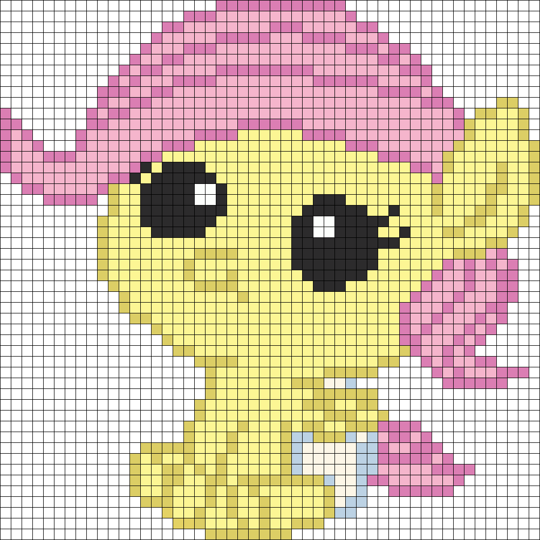 My Little Pony Newborn Fluttershy